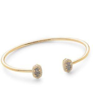 Kendra Scott Calla Bracelet in Gold Platinum Drusy